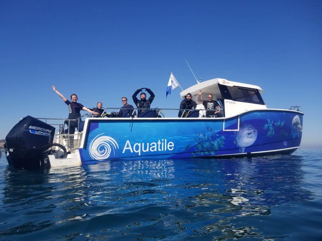 Diving boat Aquatile
